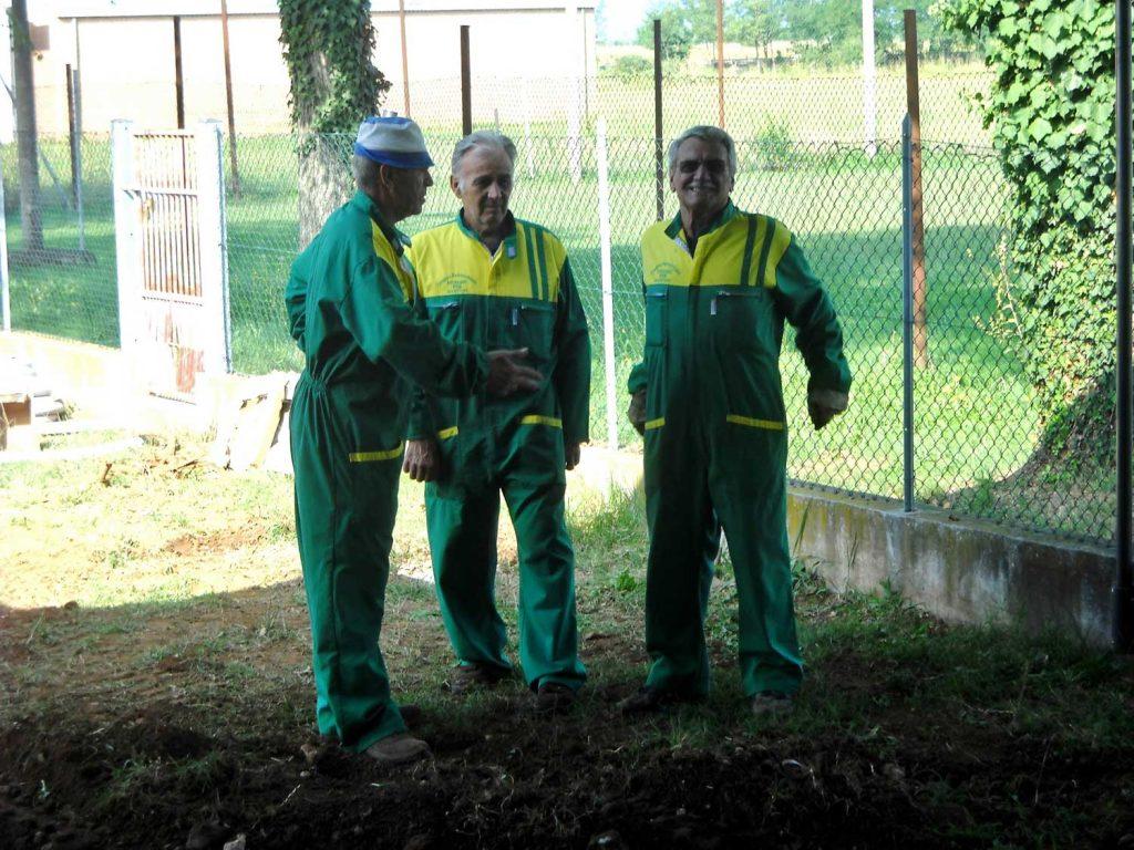 Preparativi per la fiera, edizione 2013