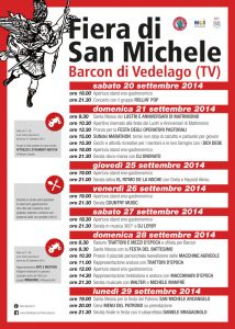 Fiera di San Michele 2014 - Manifesto