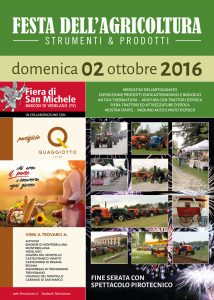 Fiera di San Michele 2016 - Manifesto