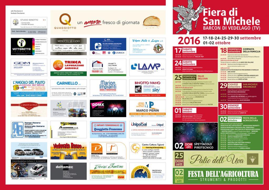 Fiera di San Michele 2016 - Tovaglietta