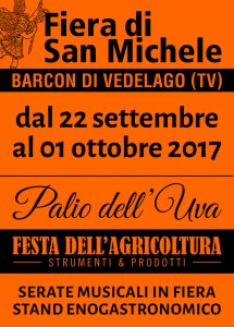 Fiera di San Michele 2017 - Manifesto