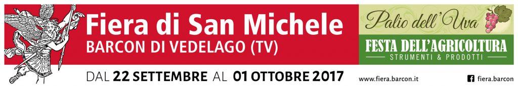 Fiera di San Michele 2017 - Striscione