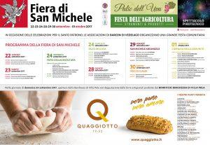 Fiera di San Michele 2017 - Tovaglietta